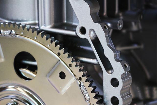 Gears and cogs plant machinery